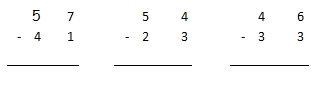 Soustractions 1 ce1 - Soustraction sans retenue ce2 ...